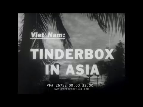 COLLAPSE OF FRENCH AT DIEN BIEN PHU & VIETNAM CONFLICT NEWSREEL 26752