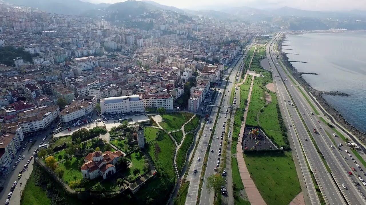 Trabzon, Asabi Şehir! Havadan Drone Çekim / Bilmelisiniz ki! - YouTube