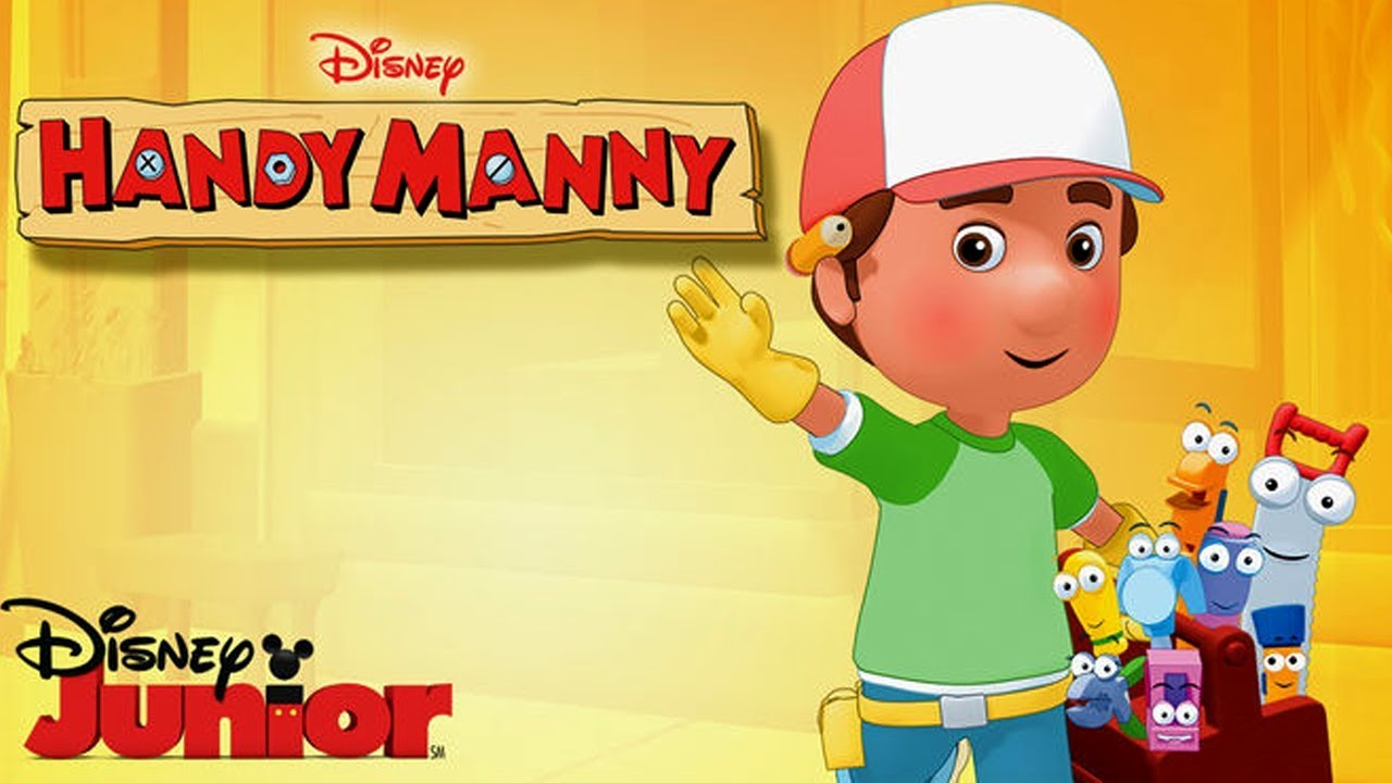 It is a photo of Revered Handy Manny Images