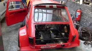 Fiat 126 à moteur moto Honda (900 ?)