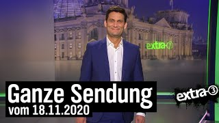 Extra 3 vom 18.11.2020 mit Christian Ehring | extra 3 | NDR