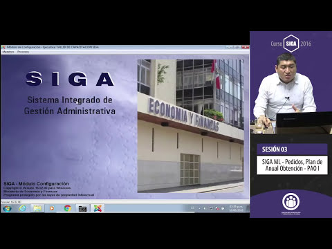 Curso SIGA Logístico 2016 - 100% Práctico