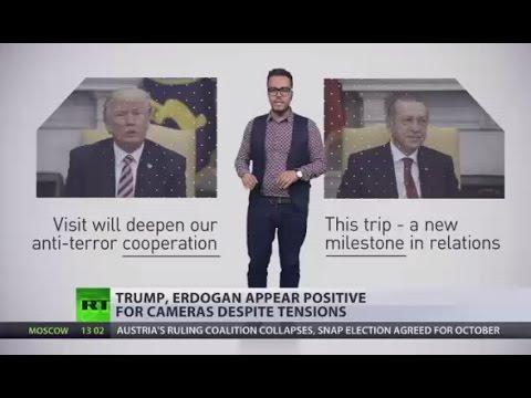 Arming Kurds & sheltering Gulen: Range of conflicting issues prick Trump-Erdogan talks