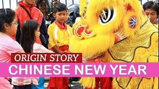 Chinese New Year Story of Nian | LittleArtTalks