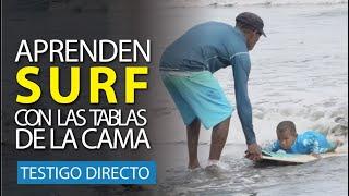 En Chocó aprenden surf con las tablas de la cama - Testigo Directo HD