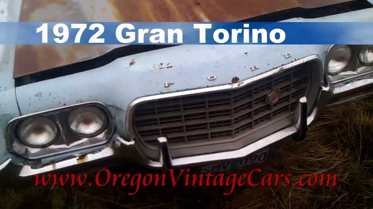 1972 Ford Gran Torino For Sale Oregon Vintage Classic Cars - YouTube