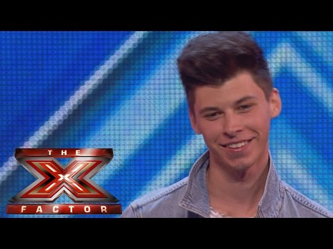 James Graham sings Adele's I Can't Make You Love Me  Arena Auditions Wk 1  The X Factor UK 2014