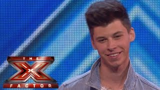 James Graham sings Adele's I Can't Make You Love Me | Arena Auditions Wk 1 | The X Factor UK 2014