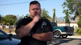 1st amendment audit San Bernardino pd  FAIL!!   Playing suspicious card, not with HDCW ;)