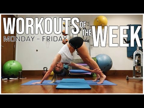 WORKOUTS OF THE WEEK & FITNESS ROUTINE  Monday - Friday  Renee Amberg