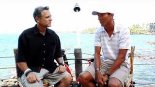 Ironman World Champion Chris McCormack sit-down interview Bob Babbitt