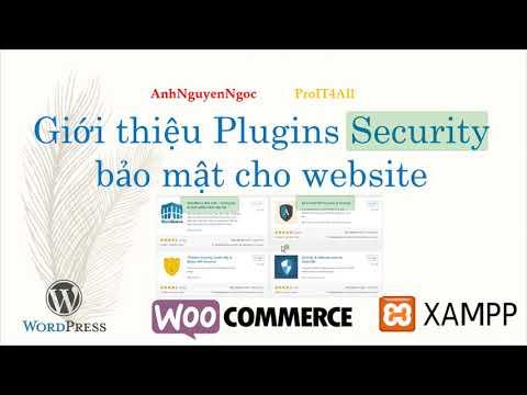 plugin tường lửa chống hack cho wordpress - Giới thiệu các Plugins Security bảo mật cho website