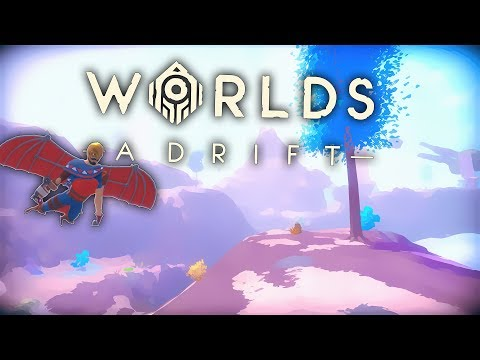 Grinding Up a New Ship | Worlds Adrift Closed BETA Gameplay (PC)