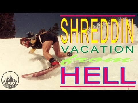 Shreddin' Vacation From HELL - 1989 Full Movie