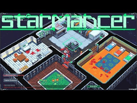Starmancer Demo - Space Station Colony Sim Inspired by Dwarf Fortress!