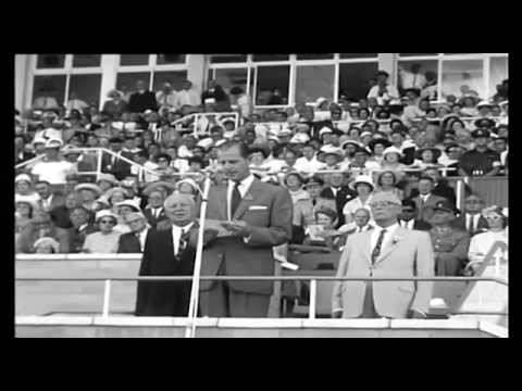 Commonwealth Games opening ceremony - Perth 1962