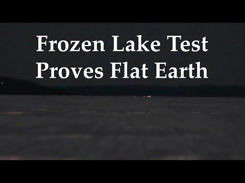 Frozen Lake Test Proves Flat Earth - Re-uploaded