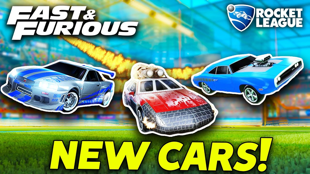 THE *NEW* FAST & FURIOUS CARS ARE HERE