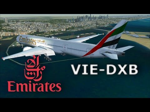 Flight Simulator X- Vienna to Dubai by Emirates