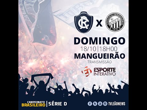 Serie D 2015 - Clube do Remo 3 x 1  Operário PR - Jogo Completo