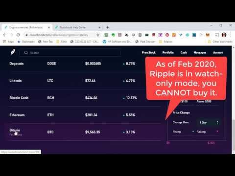 Which cryptocurrency to buy on robinhood