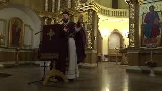 Великопосні реколекції ієромонаха Луки, день 1, наука 1