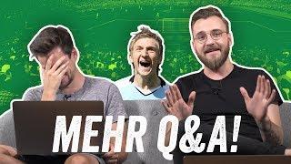 Q&A: Marin im Interview, Hertha - Frankfurt 6:1 und vieles mehr! Ihr fragt, wir antworten!
