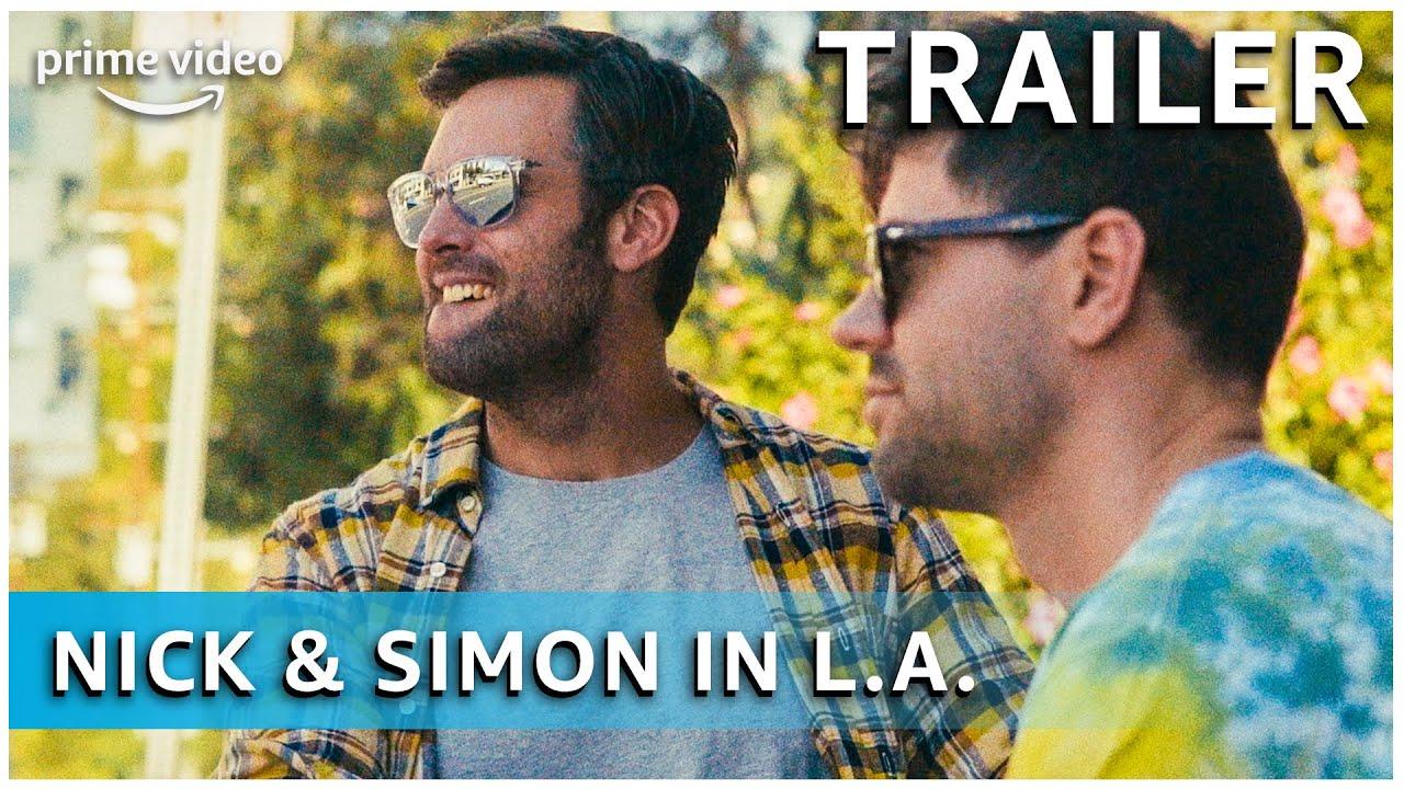 Nick & Simon in L.A. - De weg naar NSG | Trailer | Amazon Prime Video NL