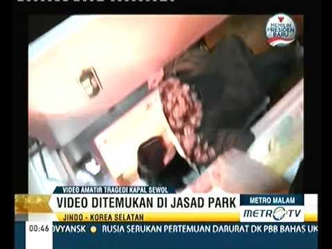 Video Suasana Di Dalam Kapal Sewol Sebelum Tenggelam
