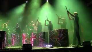 Les tambours du Bronx à Monaco le 21.06.2014 (Début du concert)