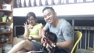 Tinh cầu cô đơn   Covered- Vocal Trân Thừa Răng, Guitar Shin