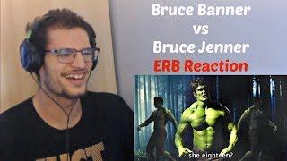 Bruce Banner vs Bruce Jenner - Epic Rap Battles of History | Reaction