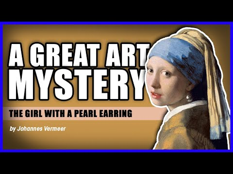 A Great Art Mystery - The Girl with A Pearl Earring - 1st-Art-Gallery.com