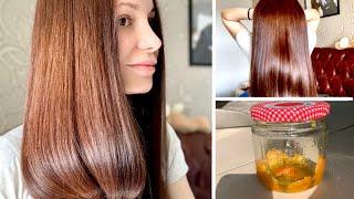 Маска для волос в домашних условиях уход за волосами Здоровые блестящие волосы сама дома