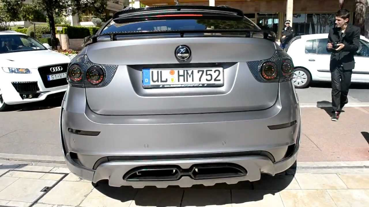 BMW X6 HAMANN TYCOON EVO M Brutal Sound - YouTube