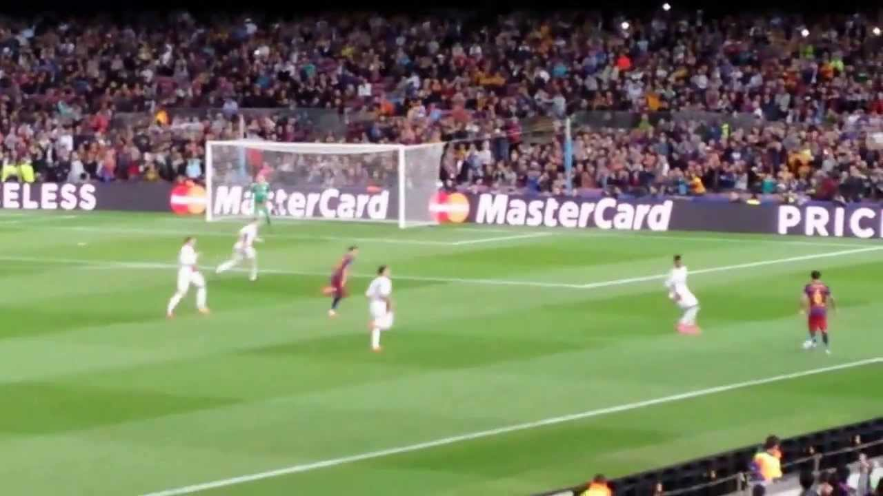 FC Barcelona-Bayer Leverkusen 2-1 Goal di Luis Suarez