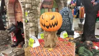 Spirit Halloween 2016: Johnston, RI Store Walkthrough Trip 1
