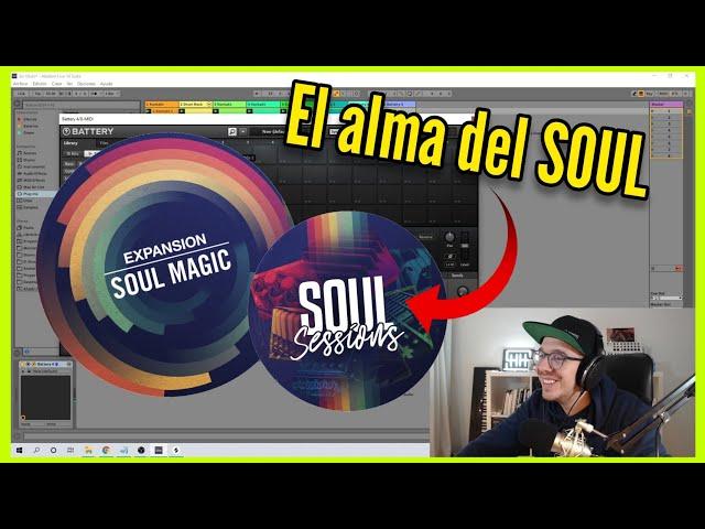 La MEJOR LIBRERÍA de SONIDOS para crear BEATS RnB SOUL | NI Soul Sessions + Soul Magic