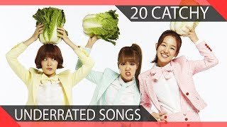 20 Ridiculously Catchy Underrated KPOP Girl Group Songs