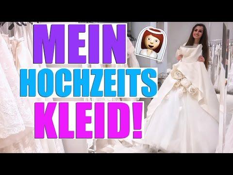 MEIN BRAUT KLEID! HOCHZEITS UPDATE APRIL 2017 👰 KINDOFROSY
