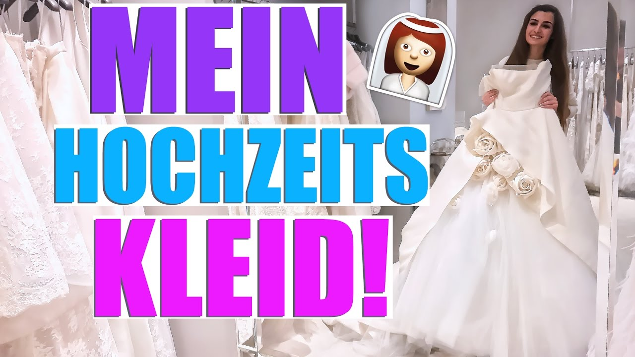 MEIN BRAUTKLEID! HOCHZEITS UPDATE APRIL 2017 👰 KINDOFROSY - YouTube