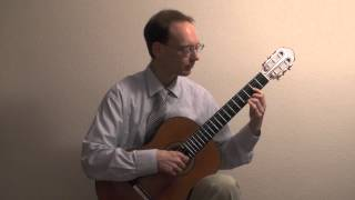 Clemens Schad, Gitarre, guitar, plays Berceuse, Lullaby by W. A. Mozart (1756 - 1791)