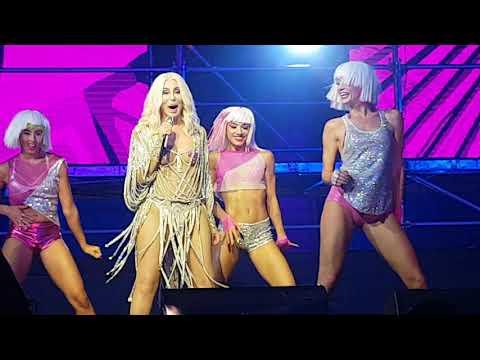 Cher Mardi Gras Sydney's performance.