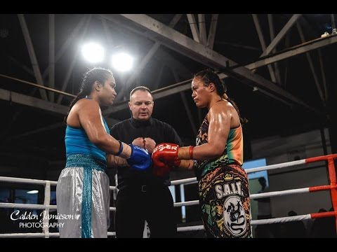 "Fight of the Night - NZ#1 Nailini ""Tongan Goddess"" Helu vs Ange Davis - ABA Stadium"