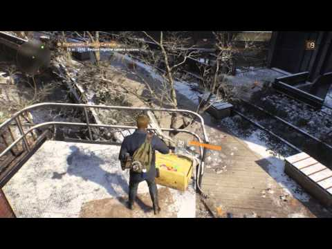 Procurement: Security Cameras Side Mission Walkthrough in The Division