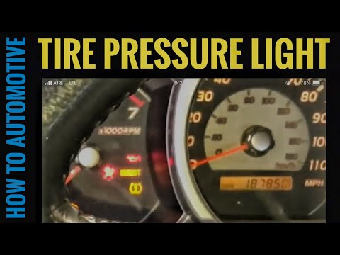 Why is the Tire Pressure Light on my Toyota 4Runner Staying on?