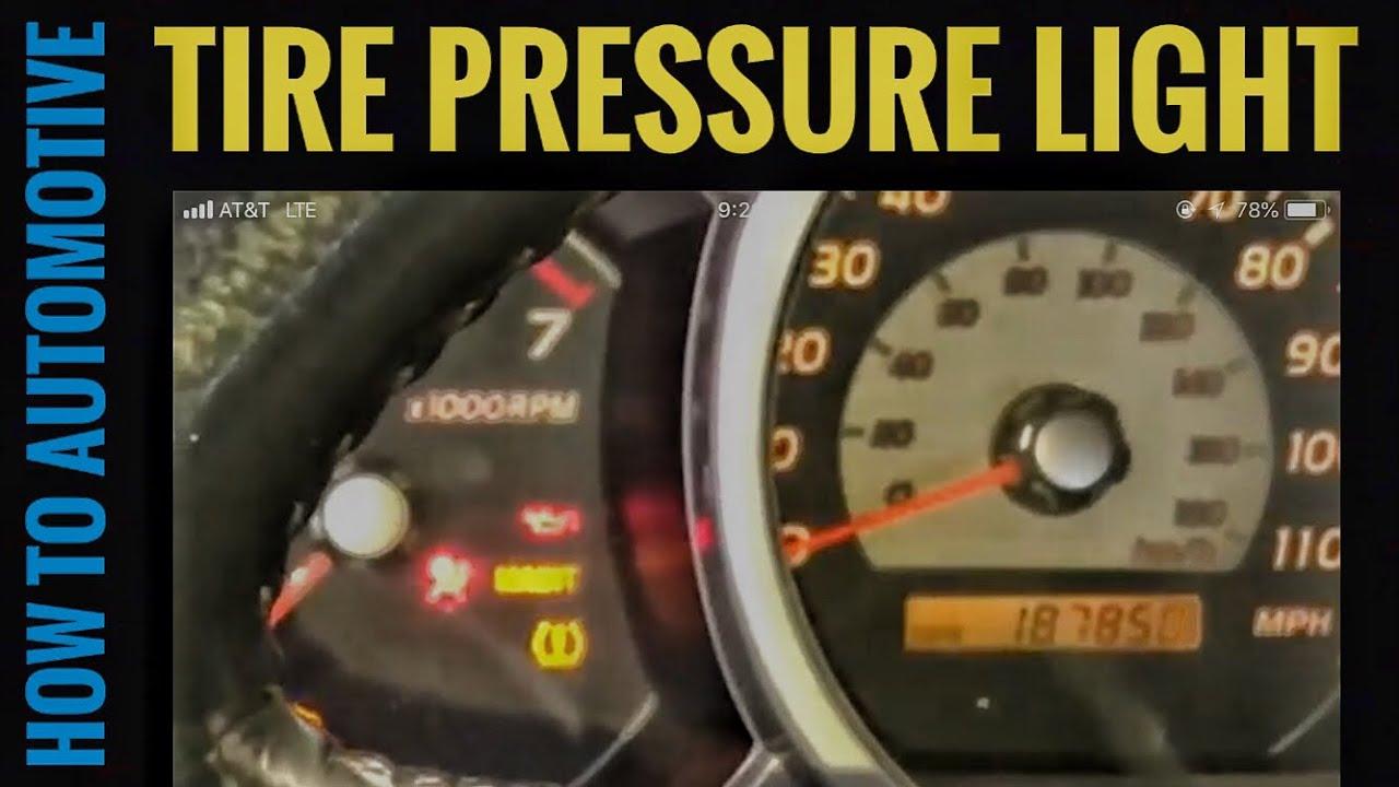 2017 Toyota 4runner >> Why is the Tire Pressure Light on my Toyota 4Runner ...