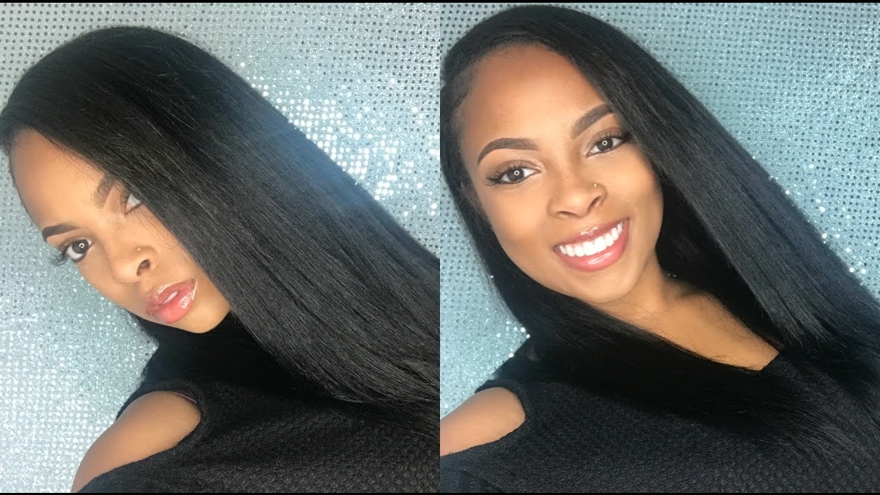 HOW TO Quickweave side part feat. Diamond Remi hair