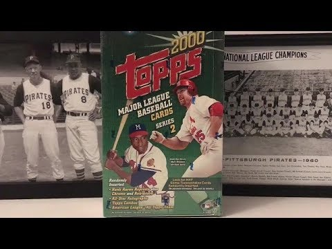 2000 Topps Baseball Series 2 Hobby Box Break - Part 2!