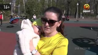 В Казани погибла 6-летняя девочка, упав с качелей у ДК химиков
